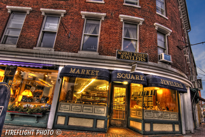 Market Street;Jeweler;Portsmouth;New Hampshire;Photo to art;art;landscape;building;store
