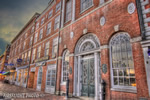 Downtown;Night;Street;Portsmouth;New-Hampshire;Photo-to-art;art;landscape;building;store