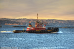 tug;tugs;boat;Portland;Maine;sunset;ocean;tractor;Photo-to-art;art;landscape;artwork