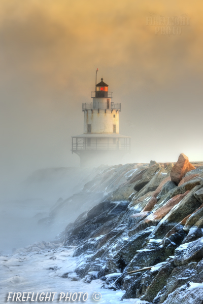 Lighthouse;Maine;Light;Headlight;Portland;rocks;Photo to art;art;landscape;building;artwork