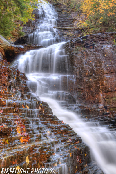 landscape;waterfall;Lye Brook Waterfall;Lye Brook;water;Manchester;Vermont;VT
